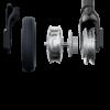 Kép 7/7 - MS Energy NEUTRON N3 fehér elektromos roller