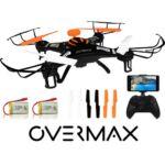 Overmax X-Bee 2.5 WiFi FPV HD kamerás komplett RC quadcopter drón szett + AJÁNDÉK AKKUMULÁTOR