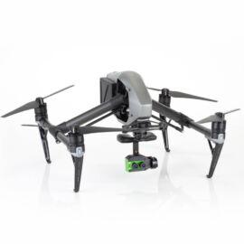 DJI Inspire 2 drón + Sentera Lock'N'Go Double 4K AG RGB+Precision NDVI® mezőgazdasági kamera