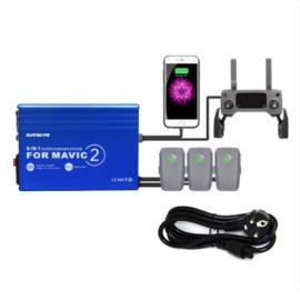 DJI Mavic 2 Pro és Zoom 5in1 hálózati párhuzamos gyorstöltő