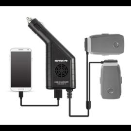 DJI Mavic 2 Pro és Zoom autós töltő (3 in 1)