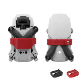 DJI Mavic Mini / Mini 2 rotorrögzítő (piros szilikon)