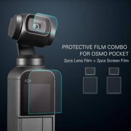 DJI Osmo Pocket / Pocket 2 - védőfólia (2x2 darabos)