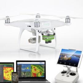 DJI Phantom 4 Pro V2 + Sentera Double4K NDVI+NDRE komplett mezőgazdasági felmérő drón szett