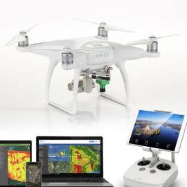 DJI Phantom 4 Advanced + Sentera Single NDVI komplett mezőgazdasági felmérő drón szett