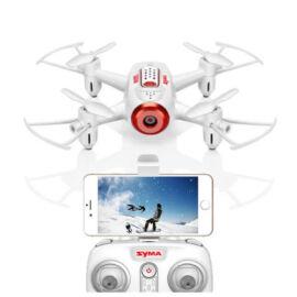 Syma X22SW FPV HD élőkép kamerás drón szett (fehér)