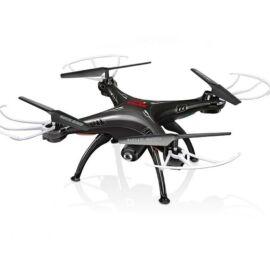 Syma X5SW FPV HD élőkép kamerás komplett RC quadcopter drón szett (fekete)