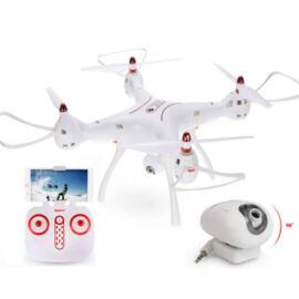 Syma X8SW-D WiFi FPV HD kamerás komplett RC quadcopter drón szett