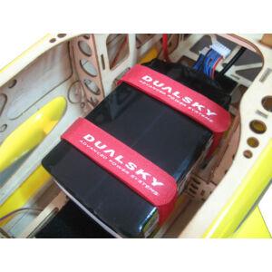 Akkumulátor gyorskötöző tépőzár (2 darab, 280 mm)