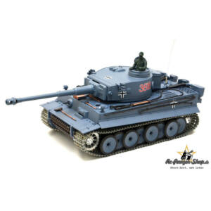 RC Tank Tiger I 1:16 RTR Airsoft (hang+füst+metal)