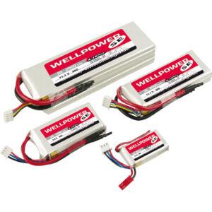 Wellpower SE 450mAh 7,4V 45/80/8C LiPo akkumulátor