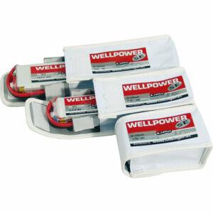 Wellpower SE V2 1000mAh 11,1V 45/80/8C LiPo akkumulátor