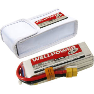 Wellpower SE V2 2700mAh 11,1V 20/40/2C DJI LiPo akkumulátor