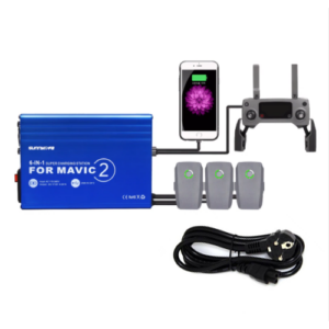 DJI Mavic 2 Pro és Zoom 6in1 hálózati párhuzamos gyorstöltő