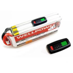 Akkumulátor töltöttség jelölő