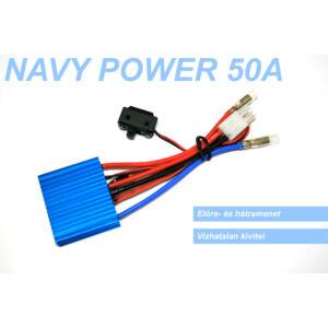 NAVY POWER kefés hajós szabályzó (50A)