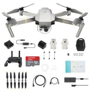 DJI Mavic Pro Platinum Fly More combo drón szett