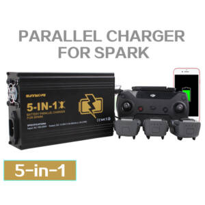 DJI Spark 5in1 hálózati párhuzamos gyorstöltő
