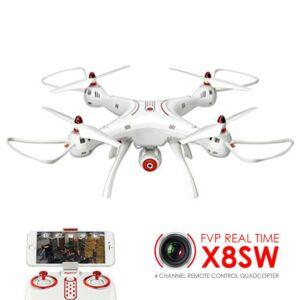 Syma X8SW WiFi FPV HD kamerás komplett RC quadcopter drón szett