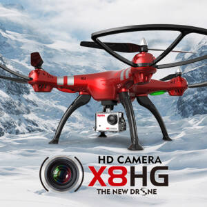 Syma X8HG 5MP HD komplett RC quadcopter drón szett