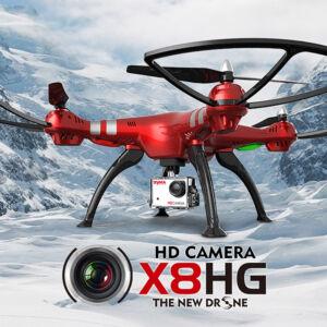 Syma X8HG 5MP HD komplett RC quadcopter drón szett