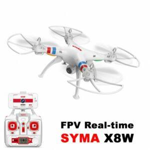 Syma X8W HD FPV komplett RC quadcopter drón szett