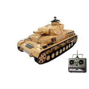 RC Tank Tauch Panzer III 1:16 RTR Airsoft (hang+füst)