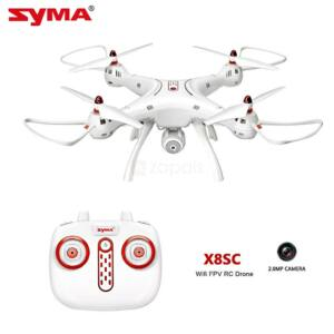 Syma X8SC HD kamerás komplett RC quadcopter drón szett