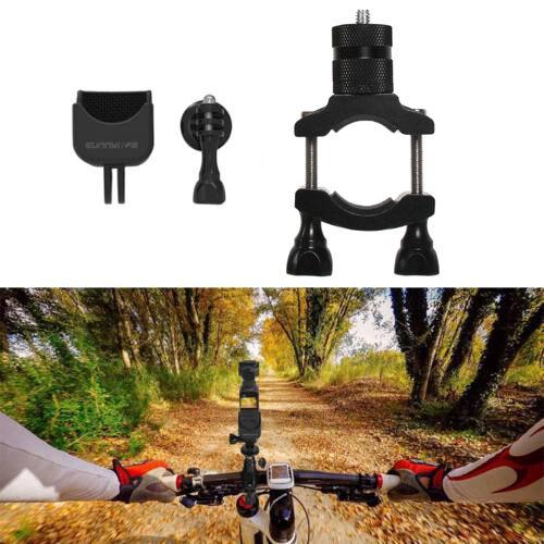DJI Osmo Pocket / Osmo Action / GoPro / Mobile 3 biciklis/motoros rögzítő (fém felfogatás + műanyag fej)