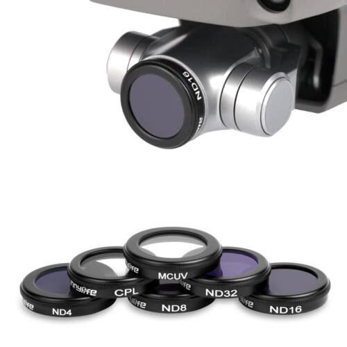 DJI Mavic 2 Zoom szűrőkészlet (MCUV, ND4, ND8, ND16, ND32, CPL)
