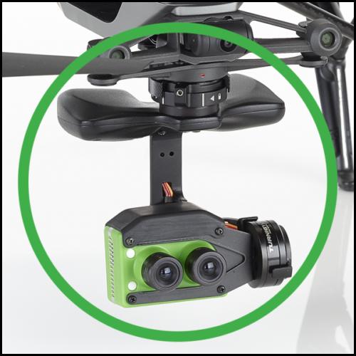Sentera Lock'N'Go Double 4K AG RGB+Precision NDVI® mezőgazdasági kamera (DJI Inspire 2 Upgrade)