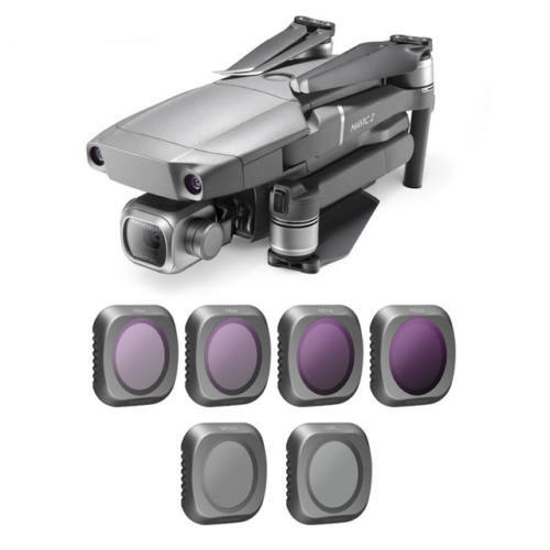 DJI Mavic 2 Zoom szűrőkészlet (ND4-CPL, ND8-CPL, ND16-CPL, ND32-CPL)