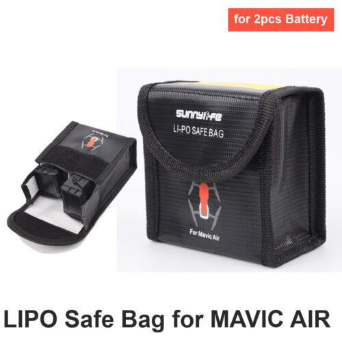 DJI Mavic Air, Spark Safe Bag (tűzálló akkumulátor tároló tasak, 3 darabos)