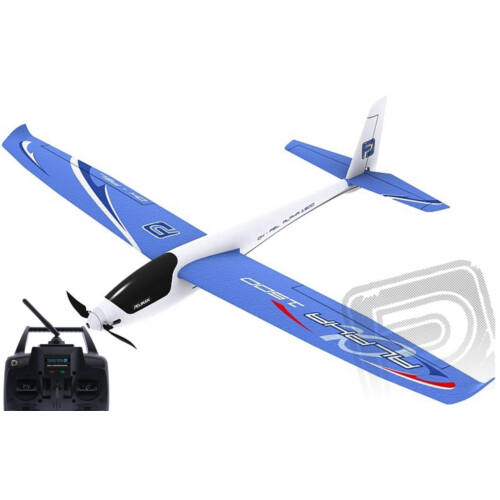 Alpha 1500 komplett brushless szett 4ch (1500 mm, 2,4 GHz)