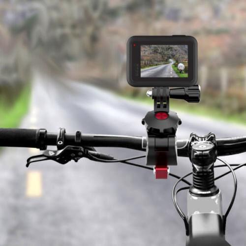 DJI Osmo Action / Pocket / Gopro univerzális biciklis/motoros rögzítő (alumínium)