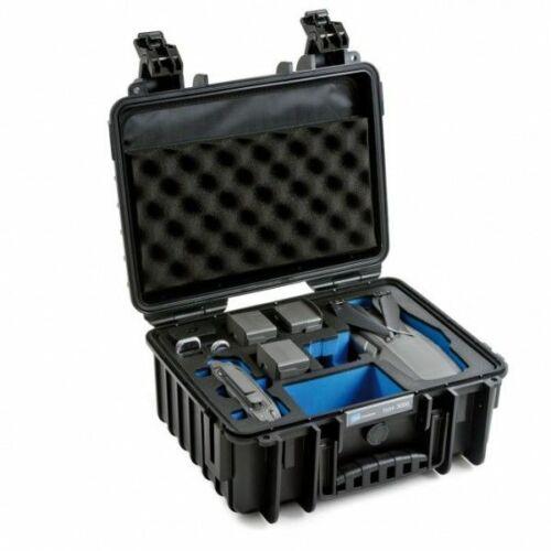 B&W koffer 3000 fekete DJI Mavic 2 Pro és Zoom modellhez