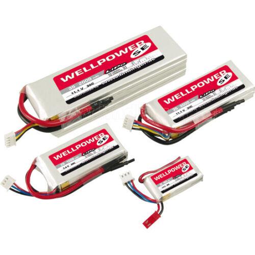 Wellpower 250mAh 7,4V 20/40/2C LiPo akkumulátor