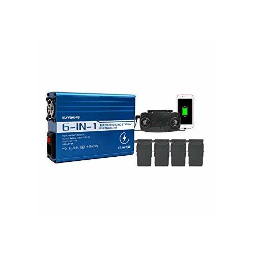 DJI Mavic Pro hálózati párhuzamos gyorstöltő (SD)