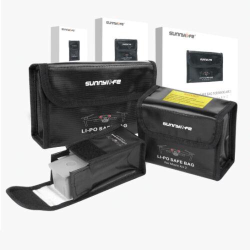 DJI Mavic Air 2 akkumulátor Safe Bag (tűzálló akkumulátor tároló tasak, 3 darabos)