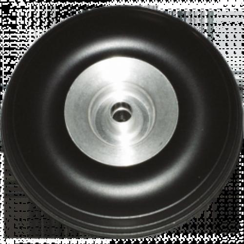MBL gumikerék alu aggyal (57 mm)