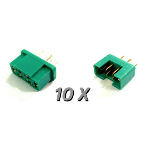 Multiplex MPX gyorscsatlakozó (anya/apa, 10 darab)