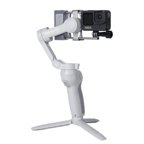 DJI Osmo Mobile gimbal adapter akciókamerákhoz (alumínium, állítható)