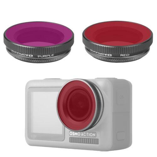 DJI Osmo Action Diving szűrő készlet (red, magenta filter)
