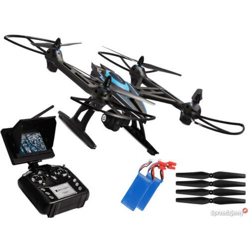 Overmax X-bee 7.2 HD FPV kijelzős komplett RC quadcopter drón szett