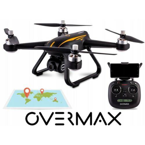 Overmax 9.0 GPS WiFi FPV Full HD kamerás komplett RC quadcopter drón szett