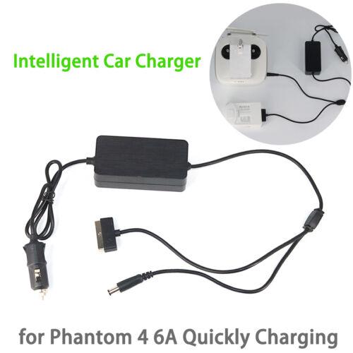 DJI Phantom4/4Pro/4Pro+ 2in1 intelligens autós töltő (17,5V, 6A)