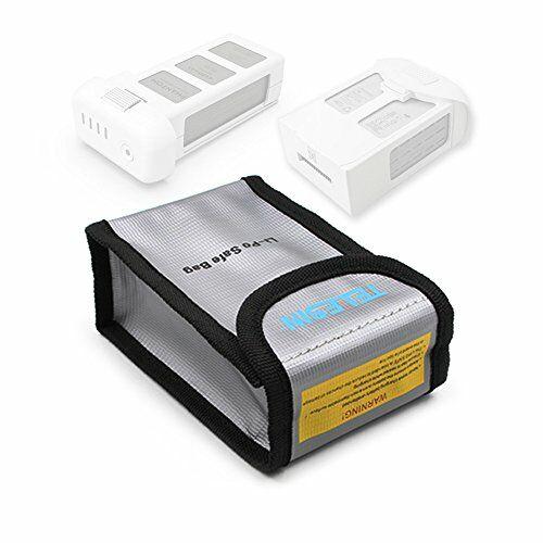 Tűzálló és hőtartó Safe Bag DJI Phantom 3/4/4Pro és Yuneec akkumulátorokhoz