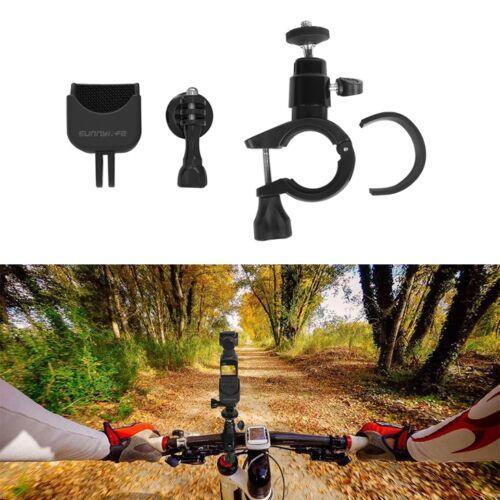 DJI Osmo Pocket / Osmo Action / GoPro / Mobile 3 biciklis/motoros rögzítő (műanyag felfogatás + műanyag fej)