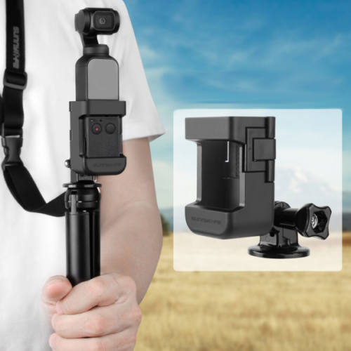 DJI Osmo Pocket multifunkcionális szelfi adapter (180 fokos, 1/4 colos)
