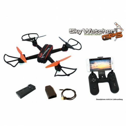 Skywatcher GPS WiFi FPV HD kamerás komplett RC quadcopter drón szett